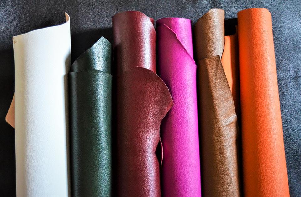 Diverses peaux en cuir - Idéal Reliure