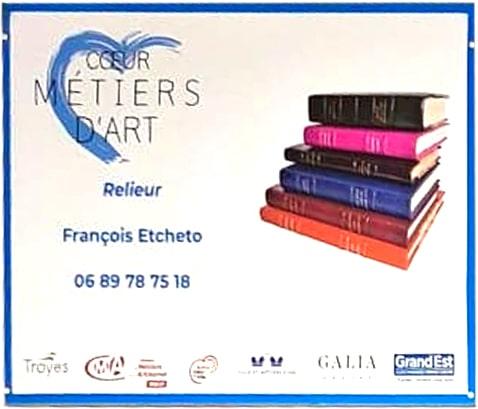 Expo Semaine Artisanat d'excellence Coeur Métiers d'Art Troyes