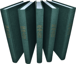Reliure administrative toile